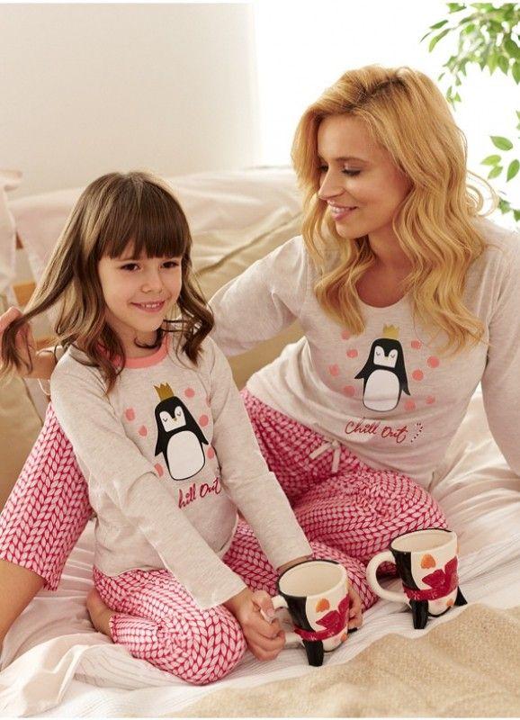 Pijama din bumbac Maja 2226 2 L