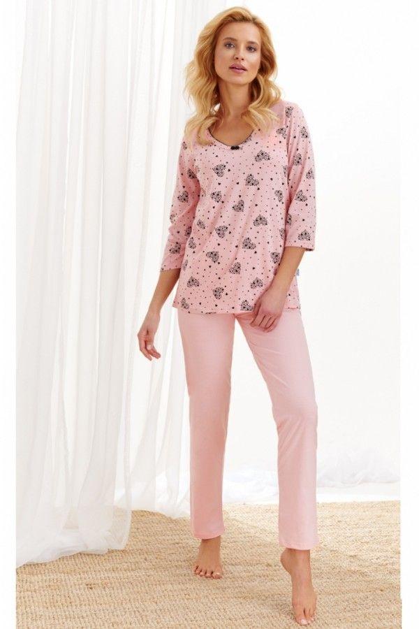 Pijama din bumbac Lidia 2446 1 XL