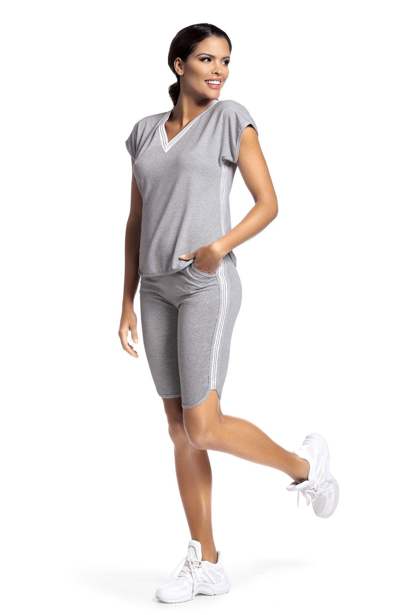 Set sport Argo 2 pantalon scurt - gri S