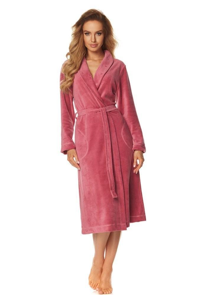 Halat dama de baie/casa 2085 roz XXL