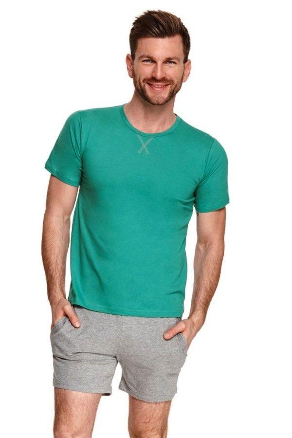 Pijama barbati Albert 2536 - 2 - verde M